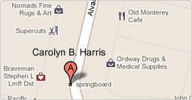 Location of the Office of Carolyn B. Harris
